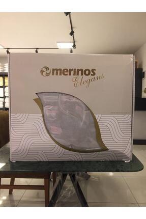 Merinos Elegans Embos Vizon Battaniye 220*240 cm Kutulu