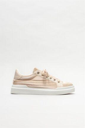 Elle Shoes Bej Kadın Spor Ayakkabı