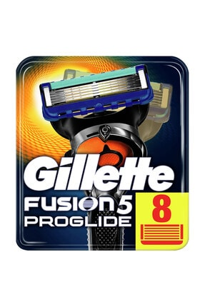 Gillette Fusion Proglide Yedek Tıraş Bıçağı 8'li - Karton Paket