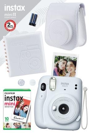 Fujifilm Instax Mini 11 Beyaz Fotoğraf Makinesi Ve Kare Albümlü Hediye Seti 22