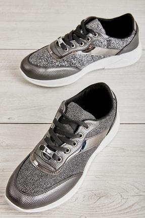 Bambi Kurşun Kadın Sneaker K01543777778