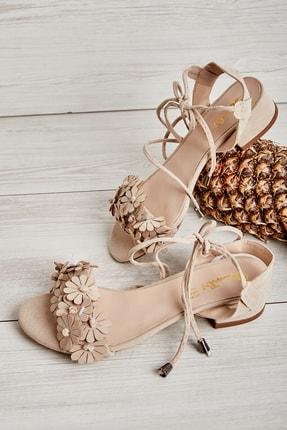 Bambi Bej Kadın Açık Ayakkabı L0503722072