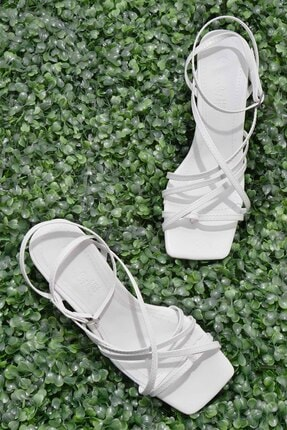 Bambi Beyaz Kadın Açık Ayakkabı L0503530309