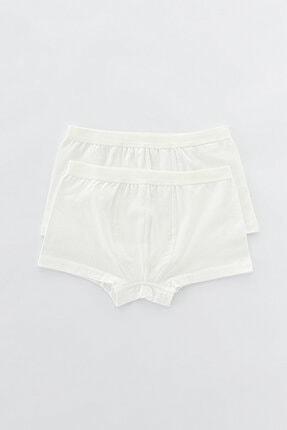 Penti Erkek Beyaz Organic Cotton 2li Boxer