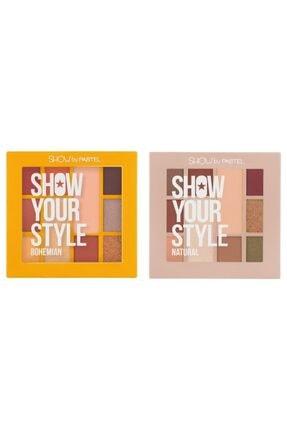 Pastel Show Your Style Far Seti Bohemian No 461 Ve Nature 464 + Alix Kaş Farı