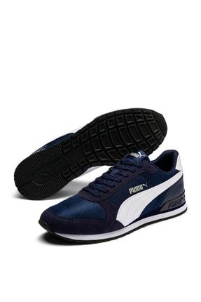 Puma St Runner V2 Mesh Antrasit Beyaz Erkek Sneaker Ayakkabı 100409137