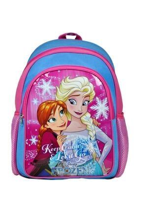 Hakan Çanta Frozen Elsa/anna Ilkokul Çantası - (iki Bölme)