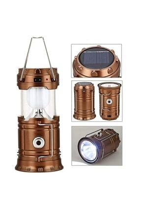 İtal 5 Fonksiyonlu Güneş Enerjili Kamp Feneri Işıldak Lamba Usb Powerbank Ip-5800t