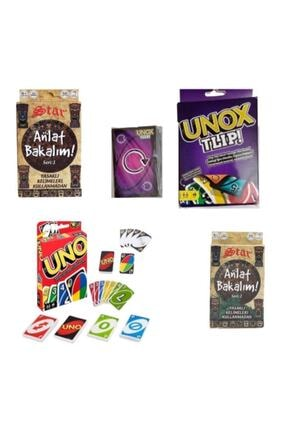 Misalanka Uno + Unox + Anlat Bakalım 1. Ve 2. Seri Set