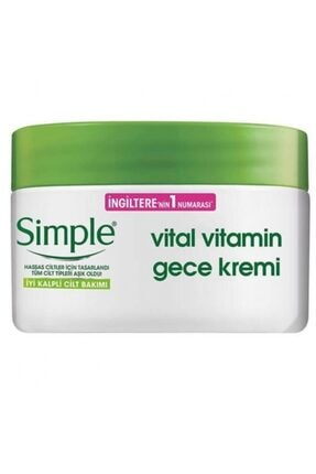 Simple Vital Vitamin Gece Kremi 50ml