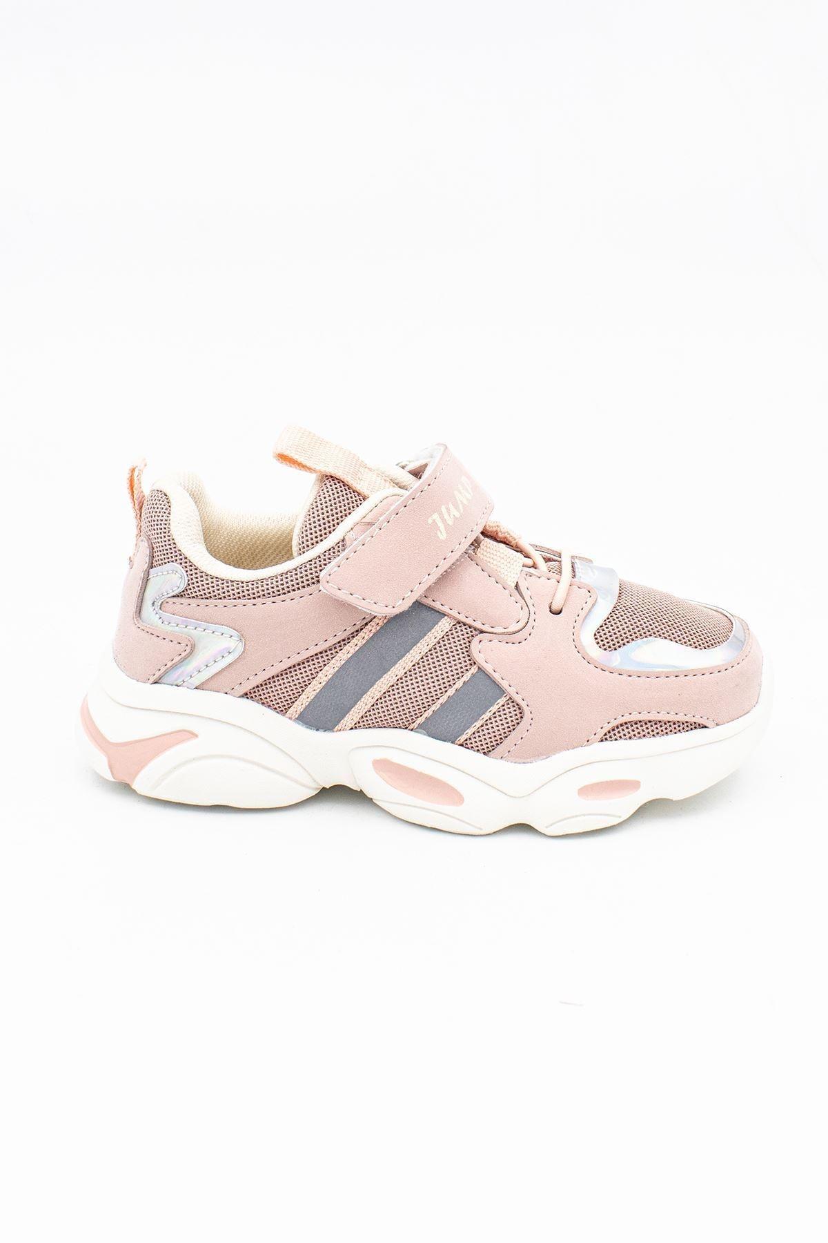 Jump Kız Çocuk Pembe Cırtlı Günlük Ayakkabı 20kjum26056071 1