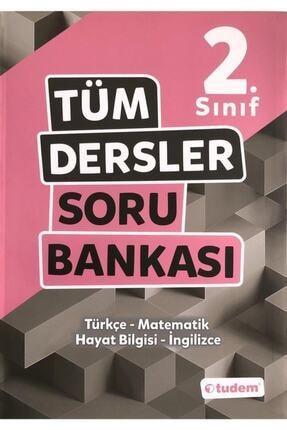 Tudem Yayınları 2.sınıf Tüm Dersler Soru Bankası