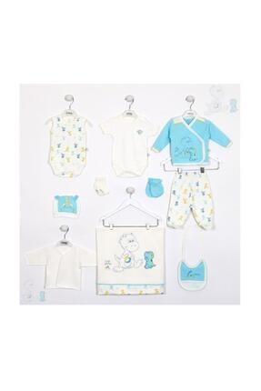 İmaj Erkek Bebek Mavi Yavru Dino 10 Lu Hastane Çıkışı Set