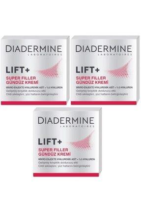 Diadermine Lift+Super Filler Gündüz Bakım Kremi 50 ml 3 Adet
