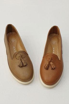 Marjin Sore Kadın Hakiki Deri Comfort Ayakkabıtaba