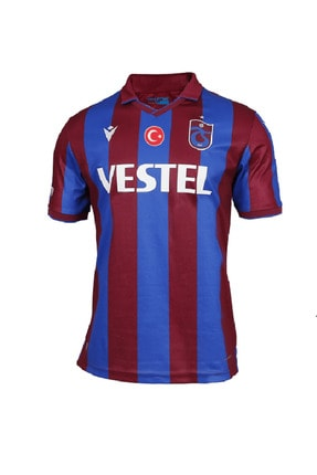 TSCLUB Bordo Mavi Trabzonspor Macron Çubuklu Forma
