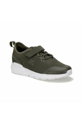 Kinetix Unisex Çocuk Haki Spor Koşu  Ayakkabısı