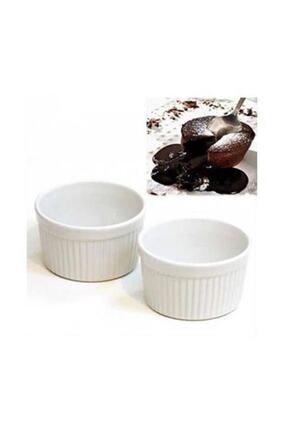 Cooker Porselen Sufle Kabı 6lı Kase Mikro Dalga Dayanıklı