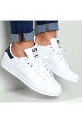 adidas Erkek Beyaz Stan Smıth Hakiki Deri  Günlük Ayakkabı
