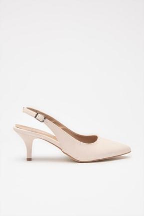 Hotiç Kemik Kadın Klasik Topuklu Ayakkabı 01AYH205370A400