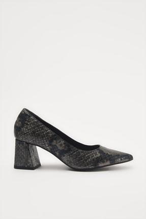 Hotiç Gri  Klasik Topuklu Ayakkabı 01AYH213690A230
