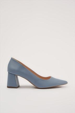 Hotiç Mavi  Klasik Topuklu Ayakkabı 01AYH213670A620