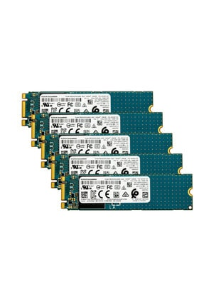 Toshiba Toshıba Kbg40zns256g 256gb M.2 Ssd 5'li Paket