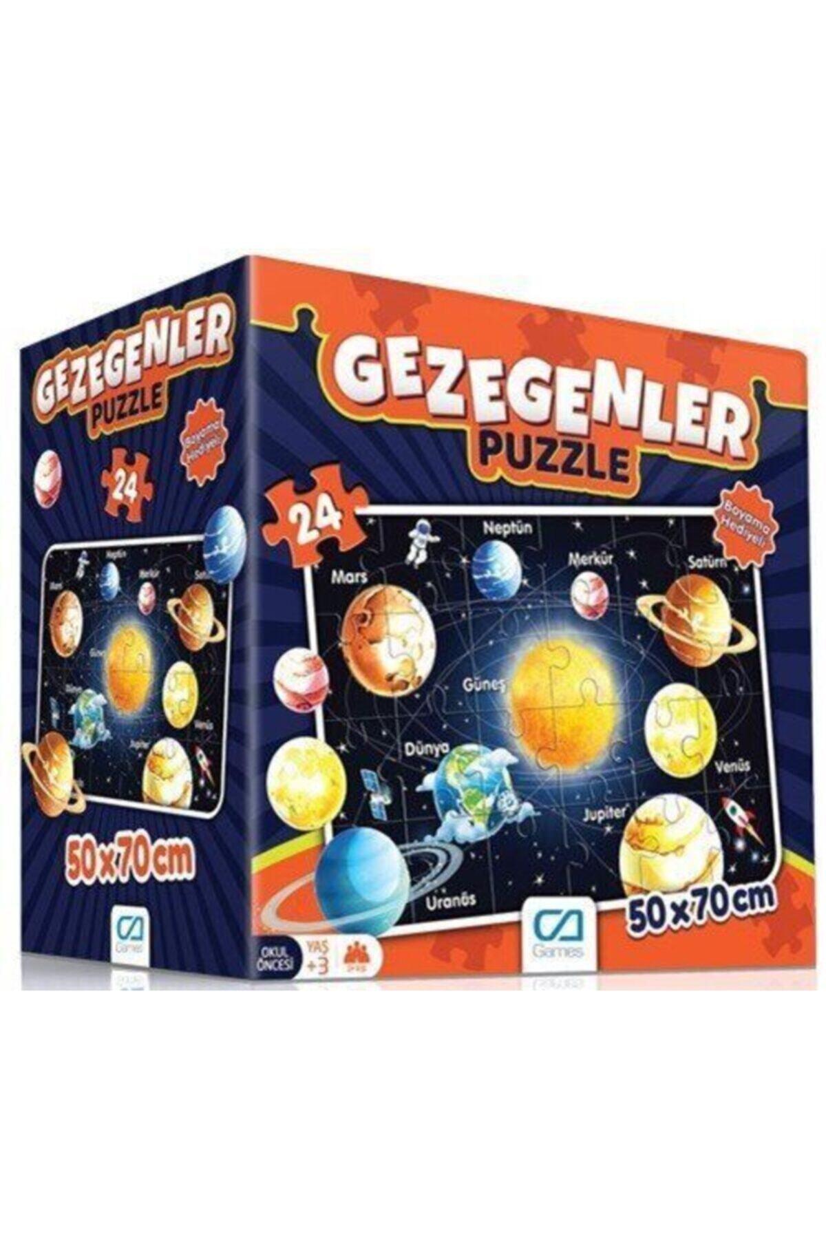 CA Games Gezegenler Eğitici Puzzle 1