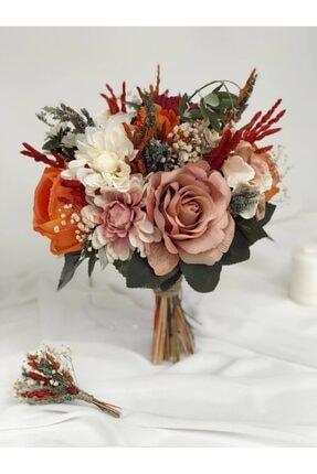 Almila Store Yeni Sezon Renk Cümbüşü Gelin Buketi Ve Damat Yaka Çiçeği