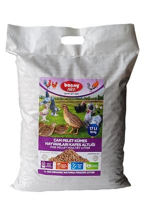 Bonny Nice Bıldırcın Güvercin Süs Tavukları Kafes Altlığı 10 Kg 17 L