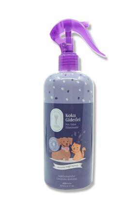 Gallipoli Lavender Lavanta Yağlı Pet Koku Giderici 400 ml Antiseptik Kedi Köpek Koku Giderici