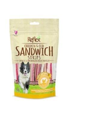 Reflex Plus Reflex Reflex Chicken&cod Sandwich Tavuk Ve Morina Balıklı Doğal Köpek Ödülü 80 Gr