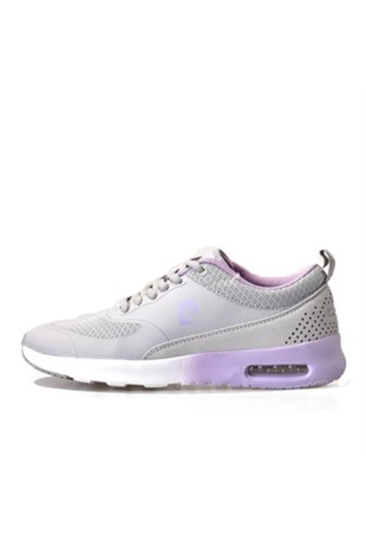 Pierre Cardin Kadın Gri Günlük Spor Ayakkabı 81778- 1