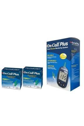 DMP On Call Plus Seker Ölçüm Cihazı +100 Strip/çubuk