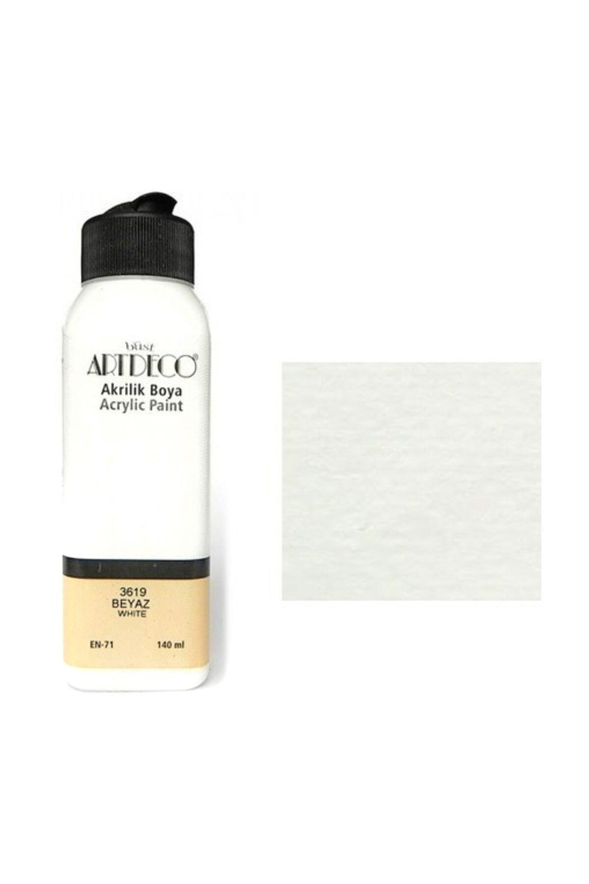 Artdeco Akrilik Boya 140 ml. Beyaz 70r-3619 2