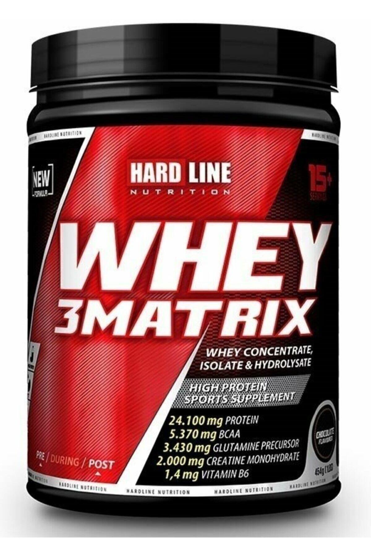 Hardline Whey 3 Matrix 454 gr - Çilek Aromalı 1