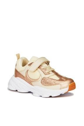 Vicco Kız Çocuk Altın Spor Ayakkabı