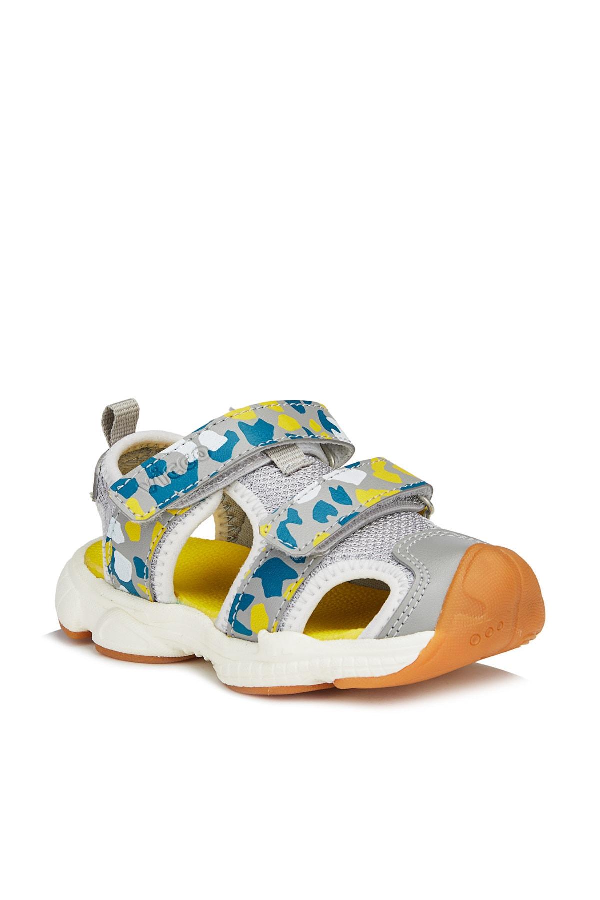 Vicco Leo Erkek Bebe Gri Sandalet 1