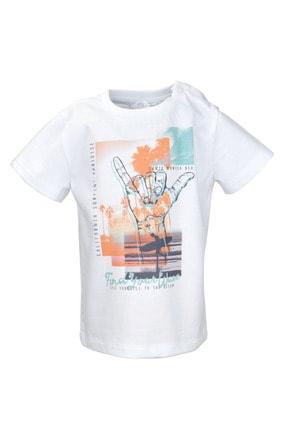Zeyland Beyaz Find Your Wave T-shirt (9ay-4yaş)