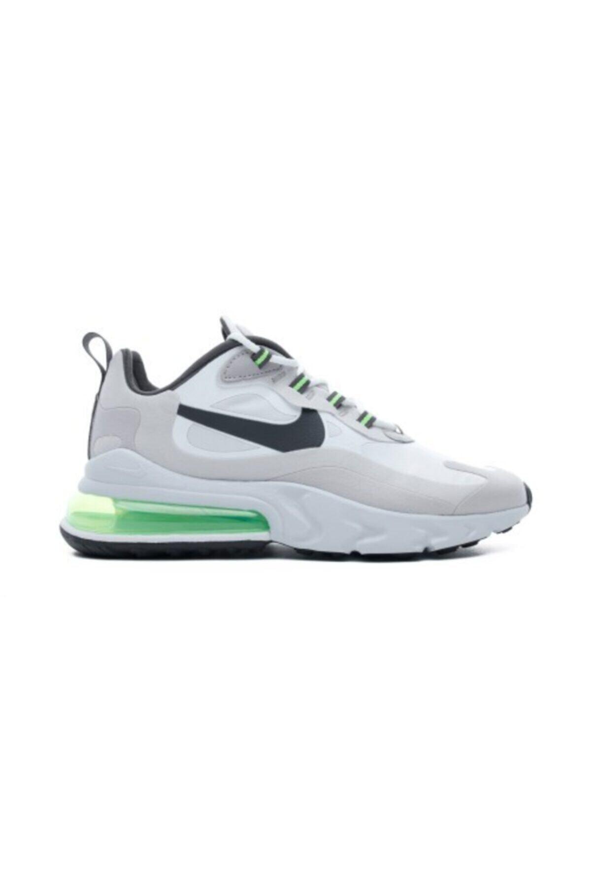 Nike Air Max 270 React Erkek Beyaz Spor Ayakkabı Cı3866-100 1
