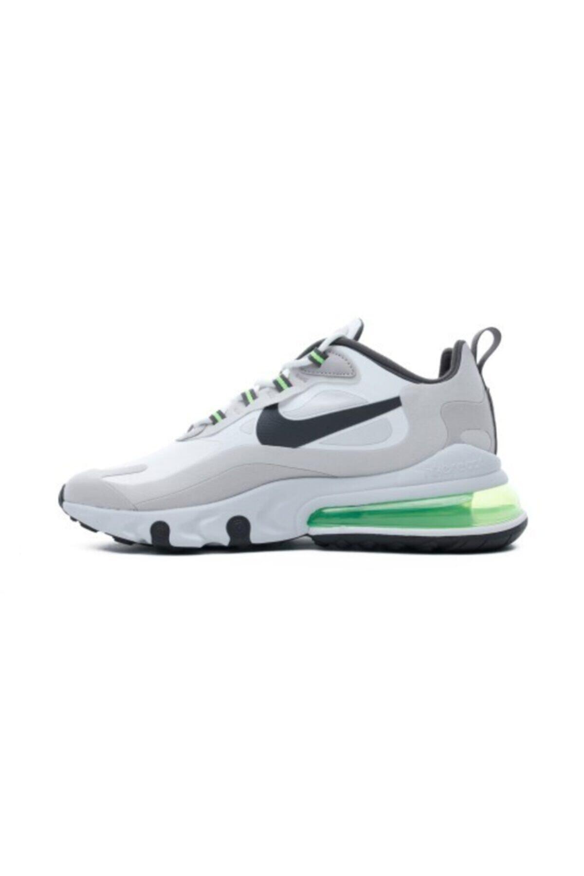 Nike Air Max 270 React Erkek Beyaz Spor Ayakkabı Cı3866-100 2