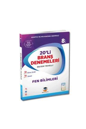Zeka Küpü Yayınları 8.Sınıf Fen Bilimleri 20 li Beceri Temelli Branş Denemeleri