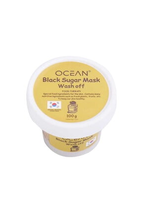 Ocean Black Sugar Mask Wash Off Soft Scrub
