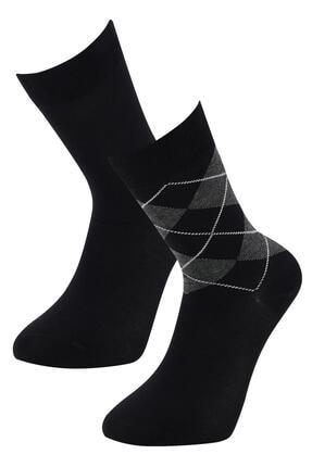 DeFacto Bambu Soket Çorap 2'li