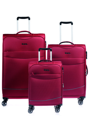 Pierre Cardin Pıerre Cardın 04pc4000-set Bordo Bordo Unısex 3 Lü Set Bavul