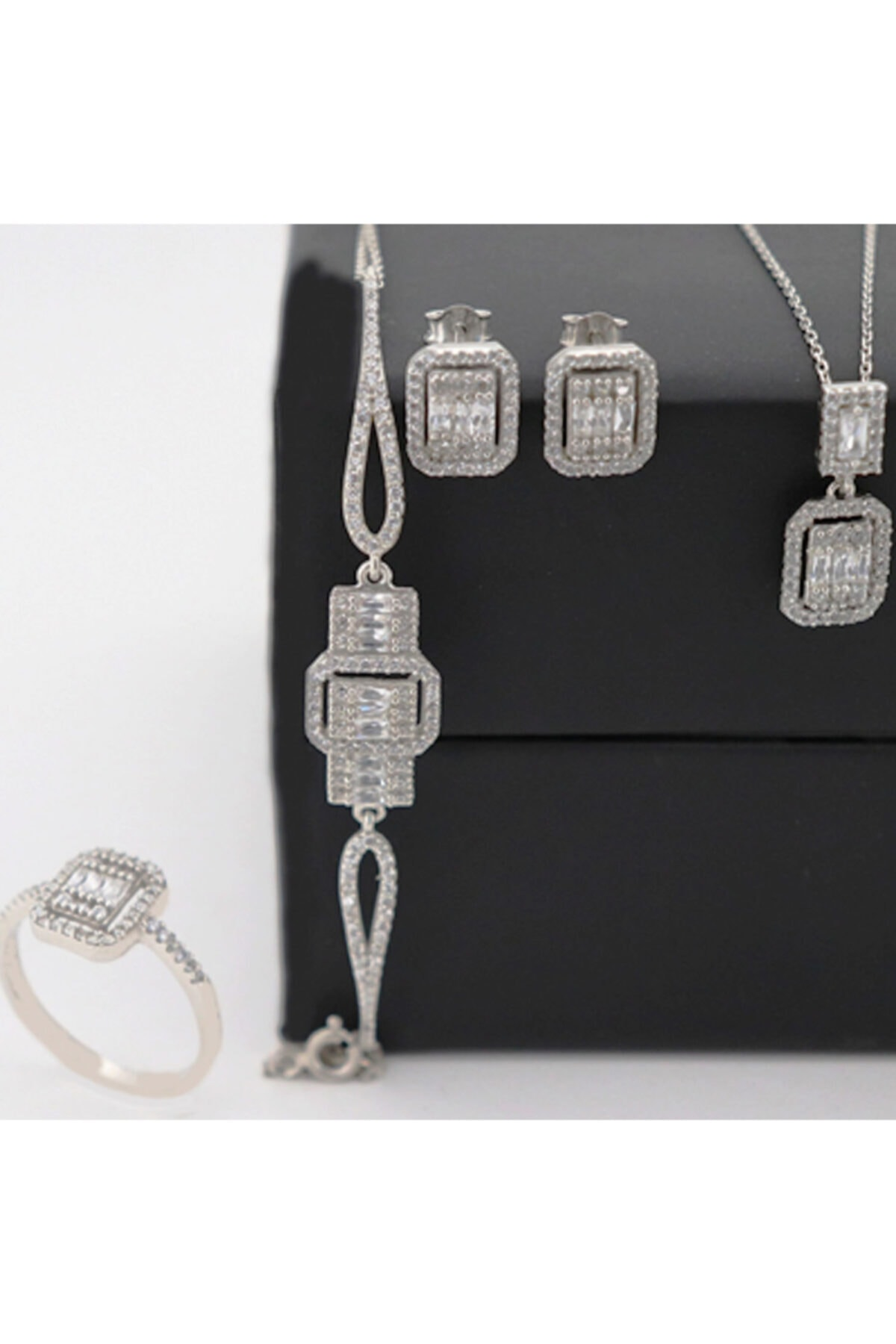 Silveranka Baget Set 925 Ayar Gümüş 2