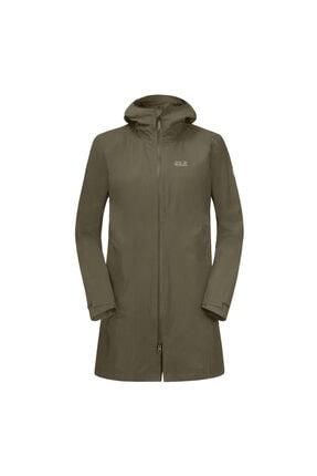 Jack Wolfskin Kadın Kahverengi Jwp Coat W Outdoor Mont 1112272-4690