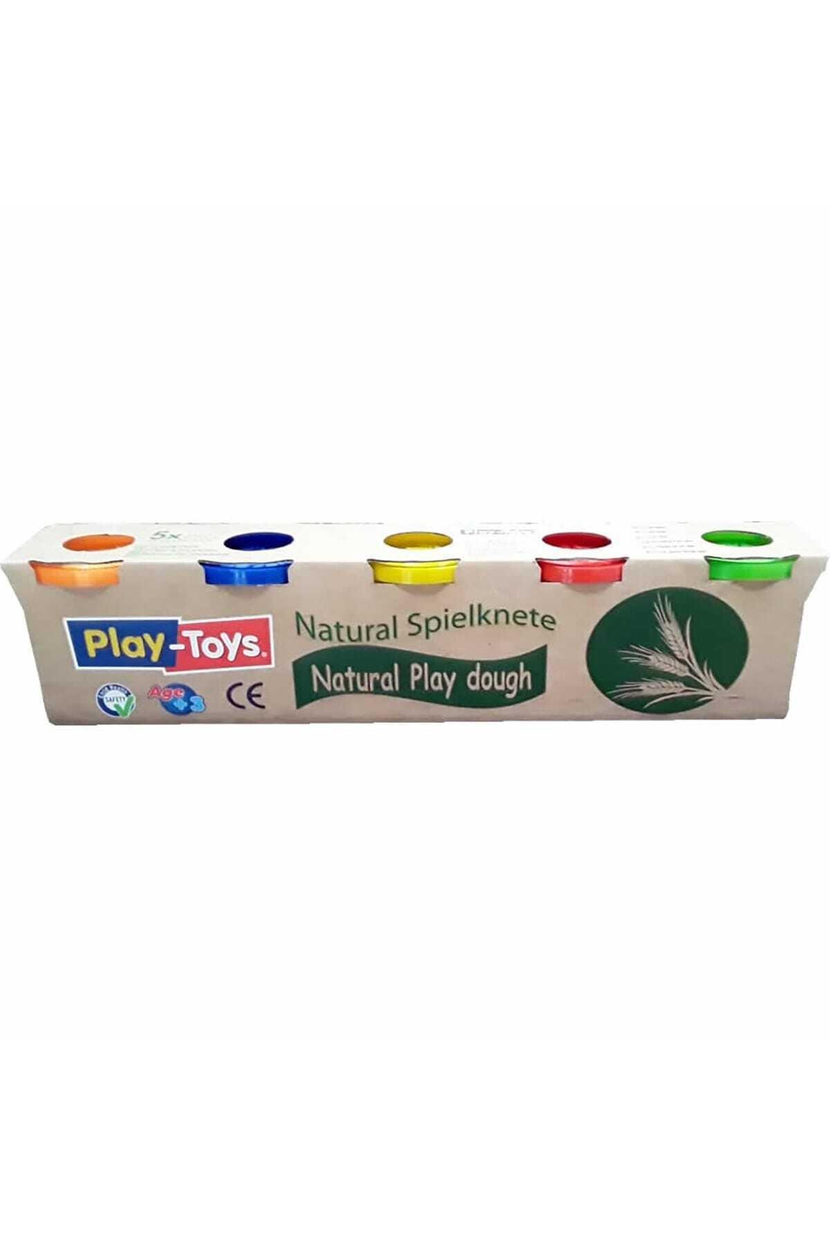 Play Toys Natural Oyun Hamuru 5li 1