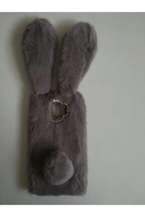 Penguen Samsung J4 Peluş Tavşan Arka Kapak