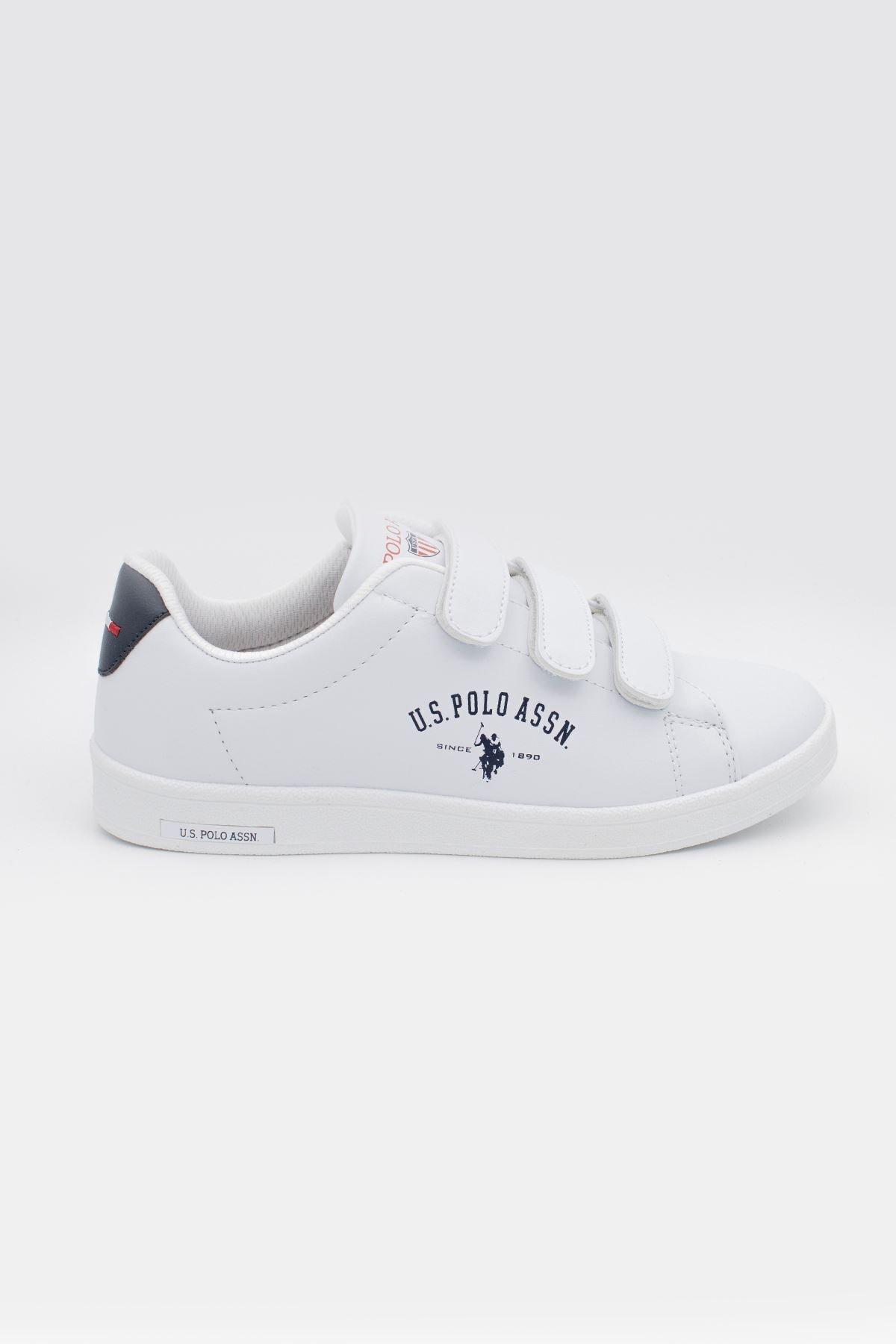 U.S POLO Beyaz Unisex Spor Ayakkabı-20yuspsıngr003 1